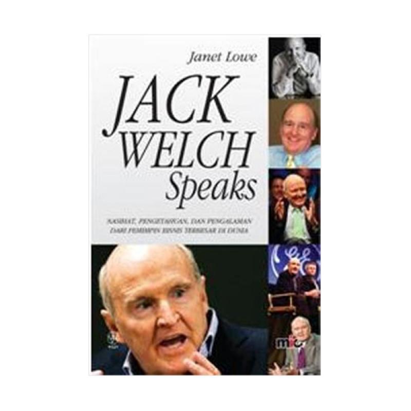 harga MIC Publishing Jack Welch Speaks Buku Blibli.com