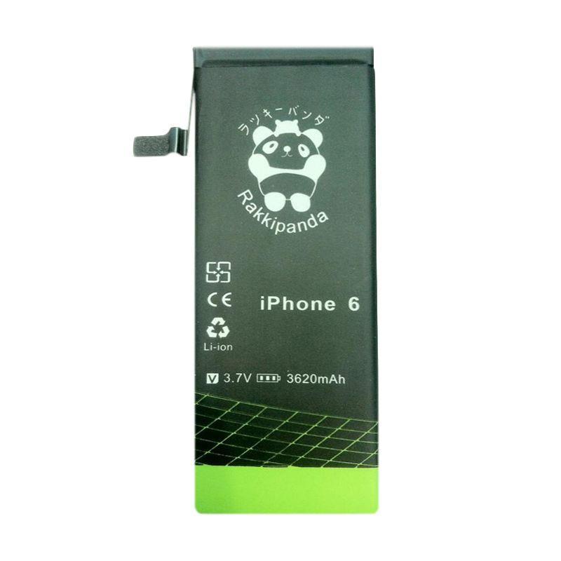 RAKKIPANDA Double Power IC Baterai for iPhone 6