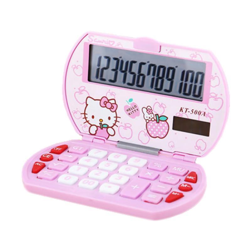 Sanrio KT-500A Hello Kitty Kalkulator - Pink