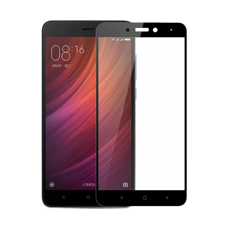 Tempered Glass [Full Cover] Screen Protector for Xiaomi Redmi 4x Black
