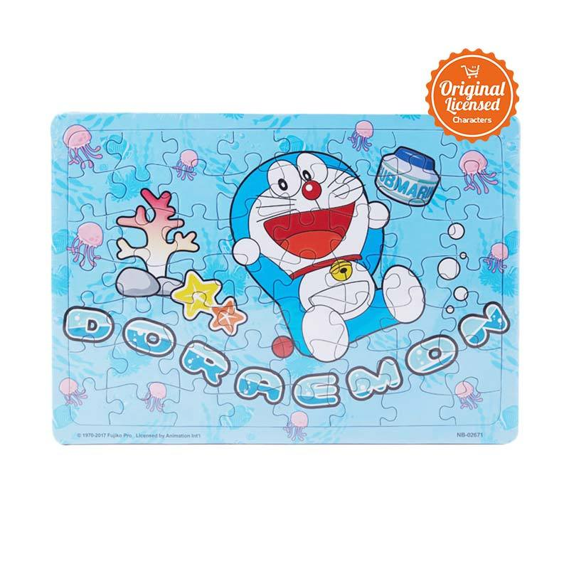Doraemon 02 Mainan Puzzle Anak
