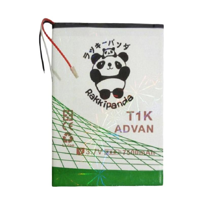 RAKKIPANDA Double Power and IC Battery for Advan Tab T1K