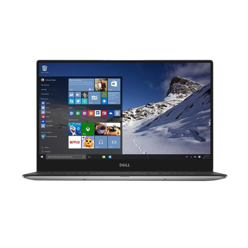DELL XPS 13 9360 Notebook - Silver [Ci7-7500U/ 16GB/ 512GB/ Intel HD/ Windows 10/ Touch]