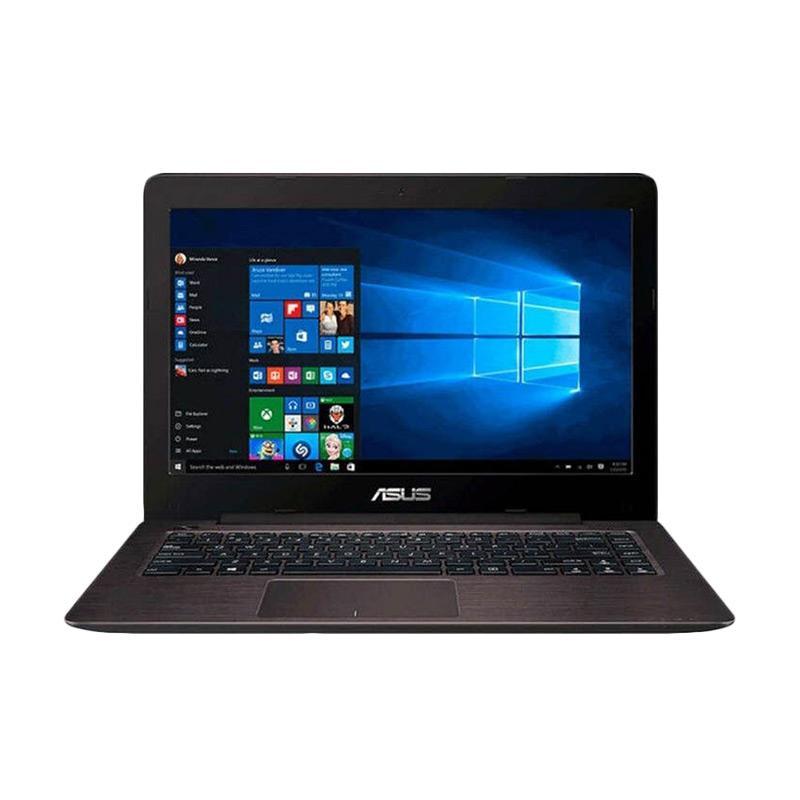 Asus A456UR-GA090D Graphic Notebook - Brown [Core i5-7200U/ 4GB DDR4/ HDD 1TB/ 14 Inch/ GeForce GT 930M 2GB/ DOS]