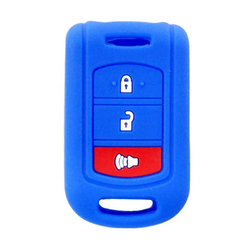 SIV A-609 Cover Key Silikon Sarung Kunci Mobil for Toyota Rush New - Blue