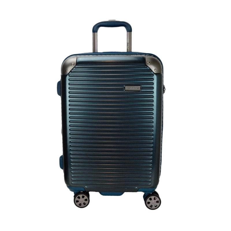 Hush Puppies 694013 Polycarbonate Hard Trolley Case Luggage Tas Koper - Blue [25 Inch]