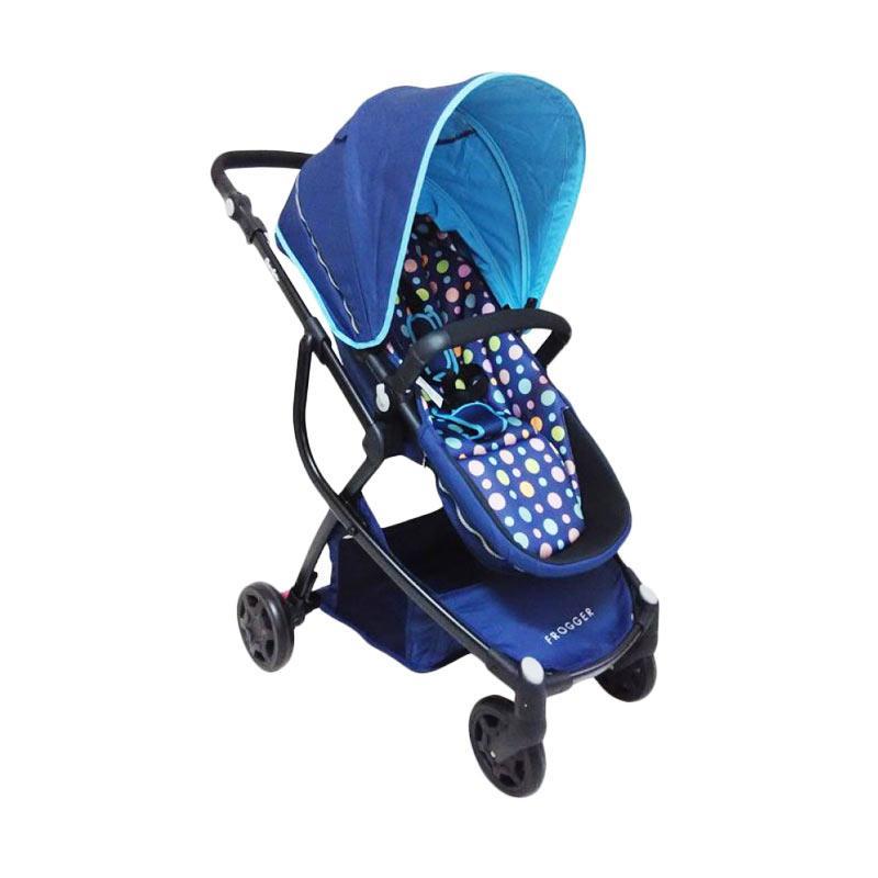 Cocolatte Frogger Baby Stroller - Navy