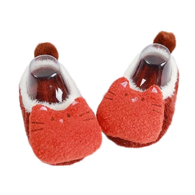 Chloebaby Shop HK S272 Boneka Sepatu Prewalker Bayi - Merah