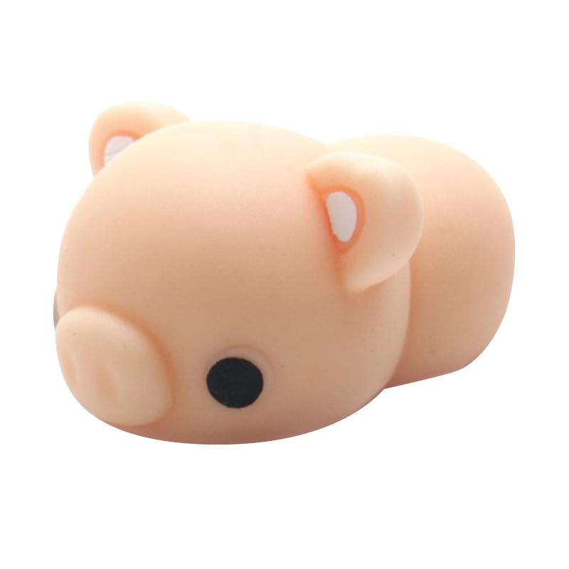 HAN MoniMoni Pig Scented Original Korea Mainan Squishy - Pink