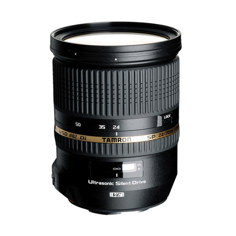 Tamron Lens AF 24-70mm Di f/2.8 VC USD for Canon