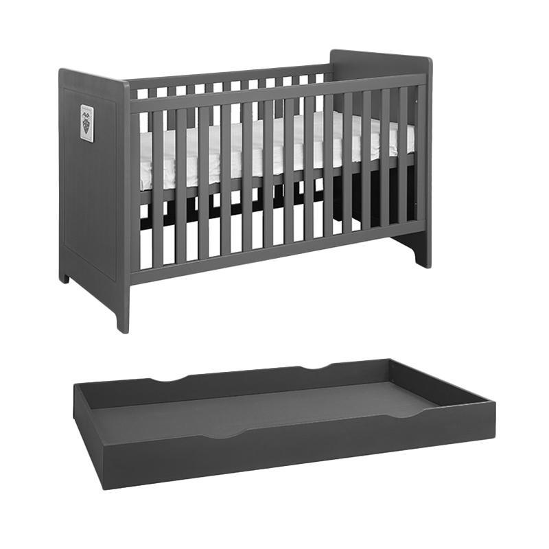 harga Theo Alice Baby Coat Ranjang + Bed Drawer Tempat Tidur Bayi Blibli.com