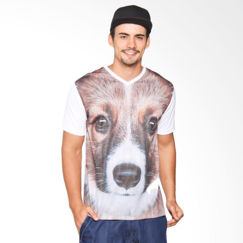 EpicMomo Dog2 T-Shirt - White AD.00131