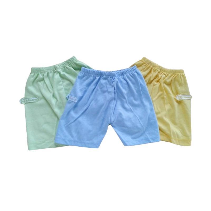 Babymix CPD053C Kinara Celana Pendek Bayi - Mix Warna [3 pcs]