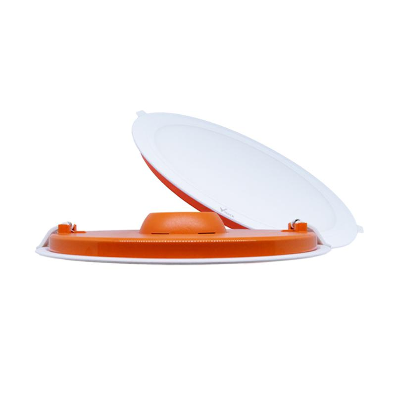 Vinder Slim Round Downlight Panel - White [15W]