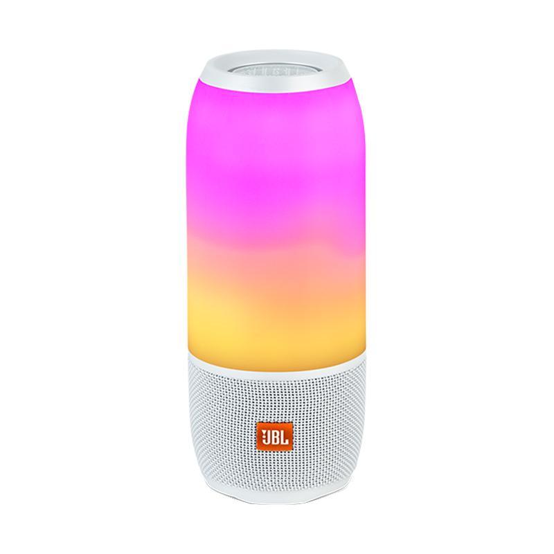 JBL Pulse 3 Bluetooth Speaker - White