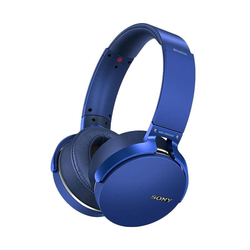 SONY MDR-XB950B1 Extra Bass Bluetooth Headphones - Blue