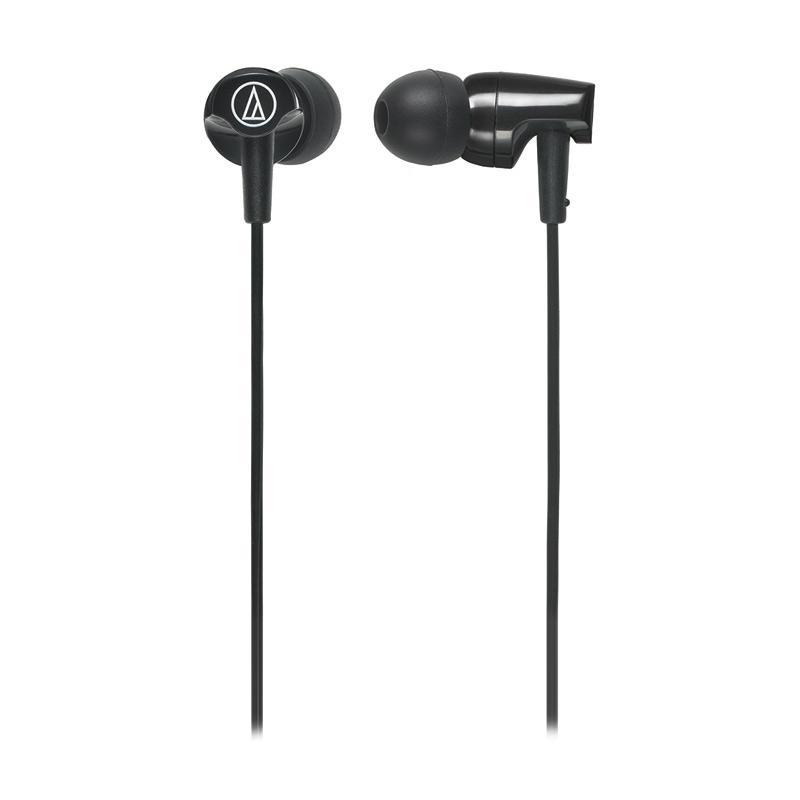 Audio Technica ATH-CLR100iS BK Earphone - Black