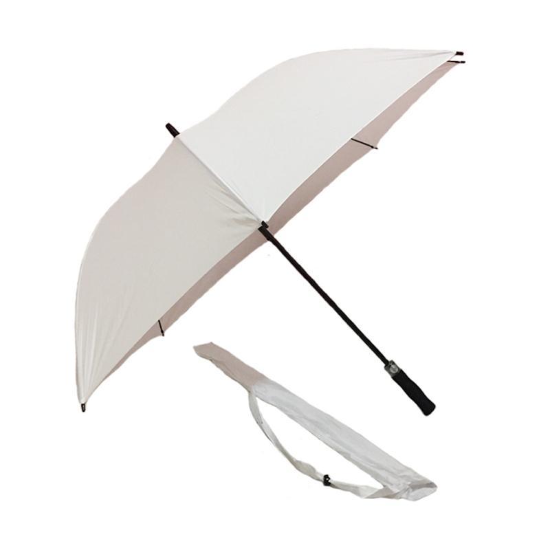 Edelweiss Premium Rangka Fiber Payung Golf - White Superior