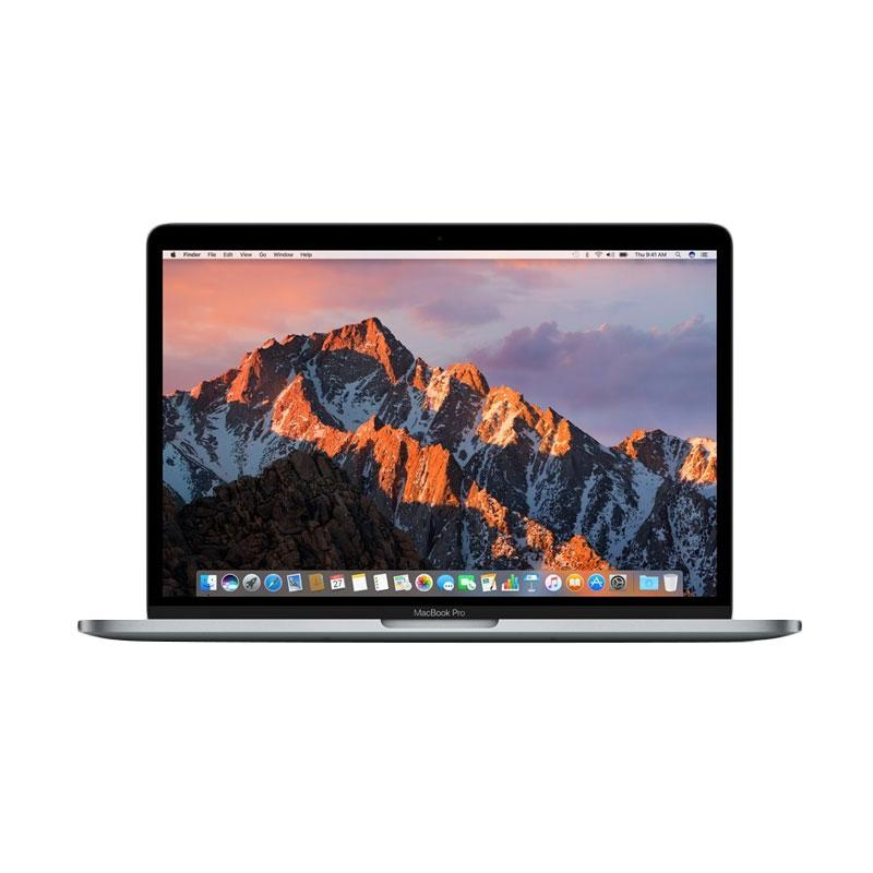 ICT 2017 - Apple MacBook Pro MPXQ2ID/A Notebook - Space Gray [Retina Display/ 2.3GHz Intel Core i5 Dual Core/ 8GB RAM/ 128GB SSD/ 13 Inch/ Newest Version]