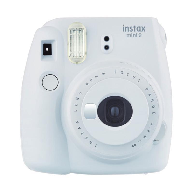 Fujifilm Instax Mini 9 Kamera Polaroid Instant - Smoky White