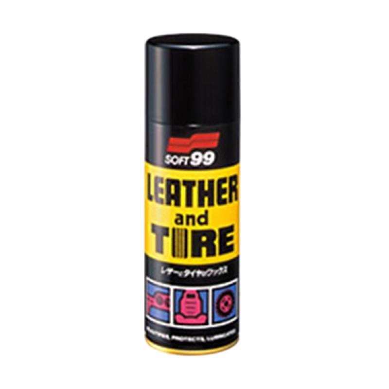 Soft 99 02006 Leather dan Tire Wax Cairan Pembersih Ban [420 mL]