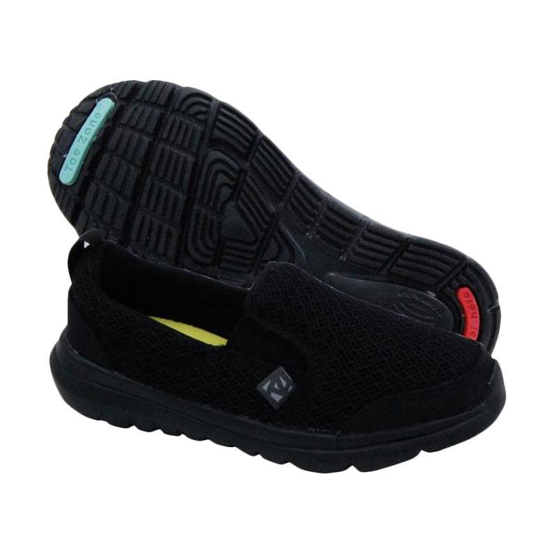 Toezone Kids Napa Yt Sepatu Anak Laki Laki - Black 2