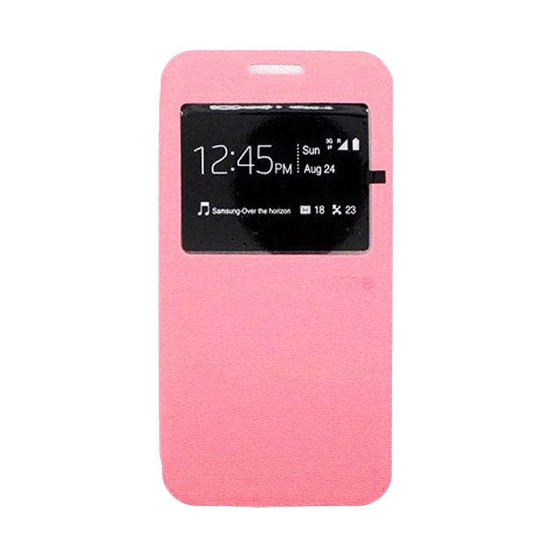Ume Window Flip Cover Casing for Xiaomi Redmi 4A - Pink
