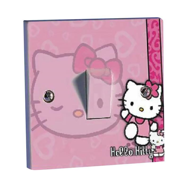 harga OEM Motif Hello Kitty 2 Tombol Lampu Sticker Blibli.com