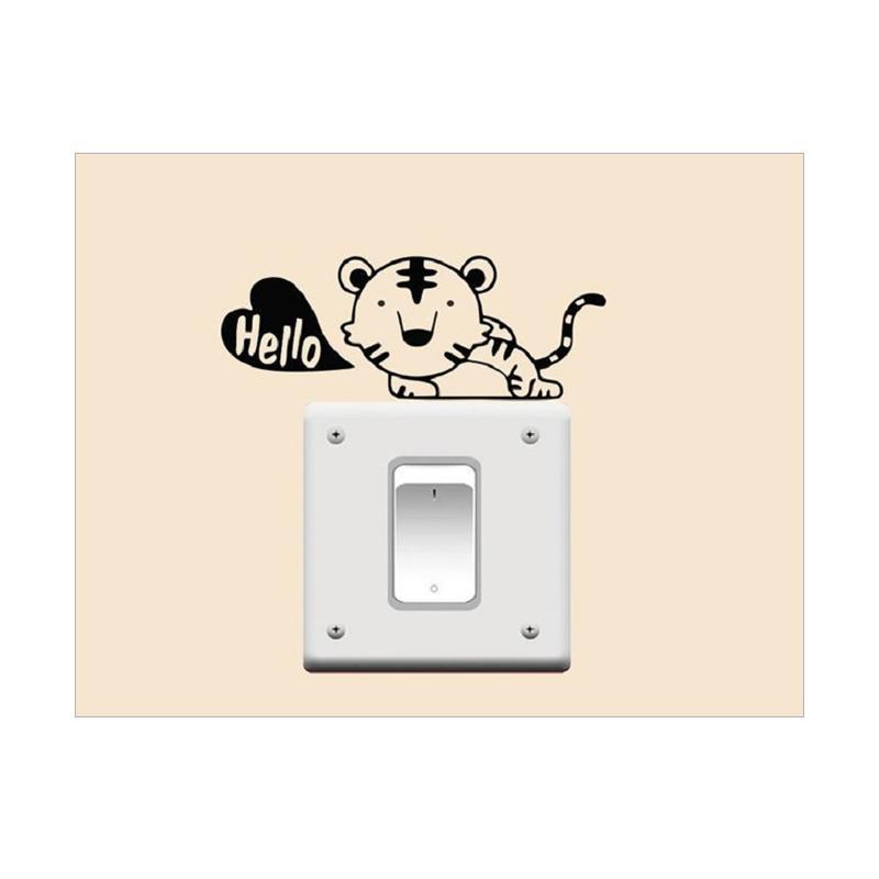 OEM Macan Singa Laptop Tombol Lampu Cutting Sticker