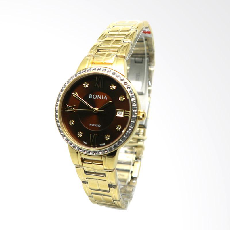 Bonia BNB10282-2243S Jam Tangan Wanita - Gold