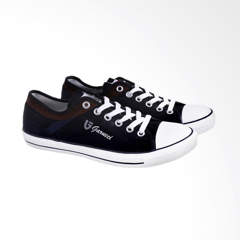 Garucci Sneakers Shoes - Black LS 1139