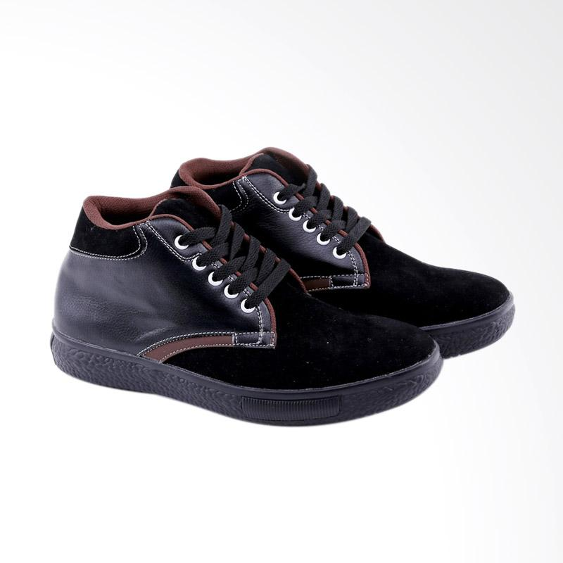 Garucci Sneakers Shoes - Black GNA 1264