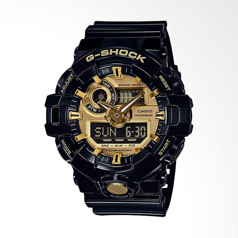 CASIO G-Shock Standard Analog Digital Jam Tangan Pria GA-710GB-1ADR