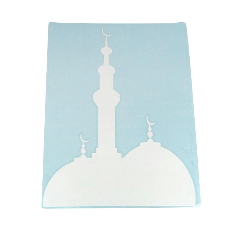 OEM Siluet Masjid Body Kaca Car Decal Stiker Mobil