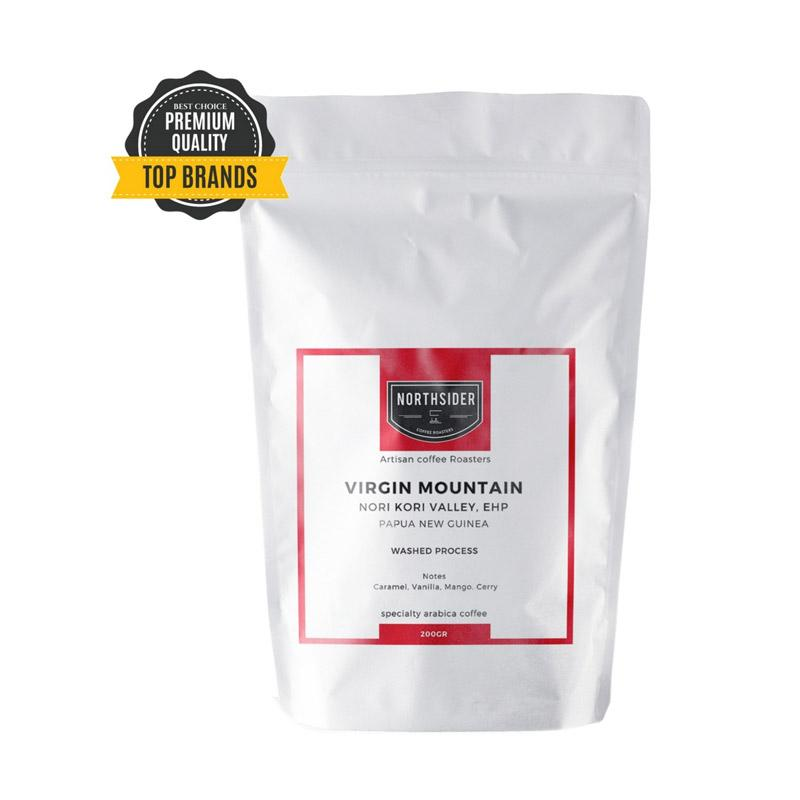 Northsider Virgin Mt Arabica Specialty Coffee Washed Papua New Guinea Kopi