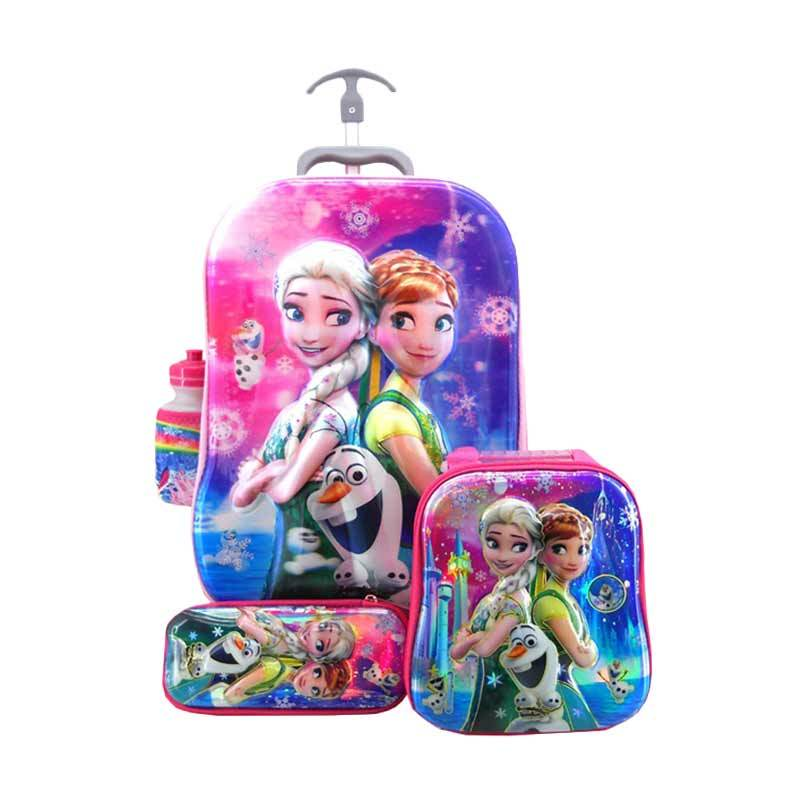 DJ Fashion 0241 5D 4 in 1 Set Tas Sekolah Anak