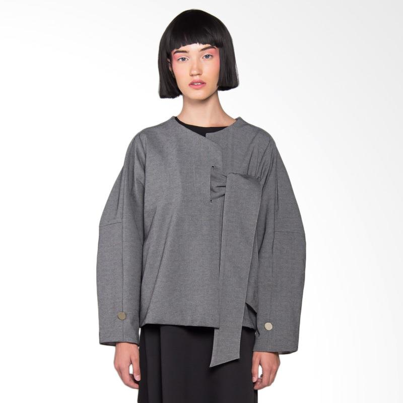 Hunting Fields OT006 Kioko Outer Wanita - Dark Grey