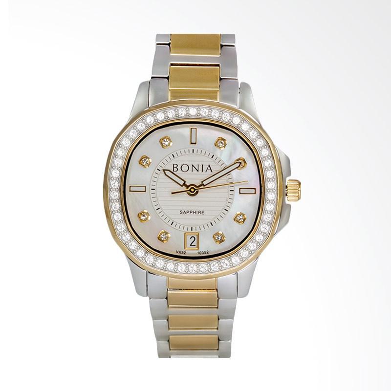 Bonia - BP10352-2157S - Jam Tangan Wanita - Gold