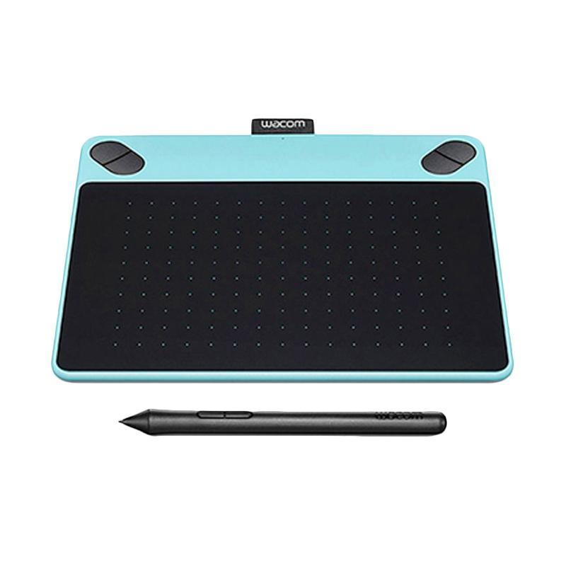harga Wacom Intuos Art Pen & Touch Medium [CTH-690/B0-CX] - Mint Blue Blibli.com