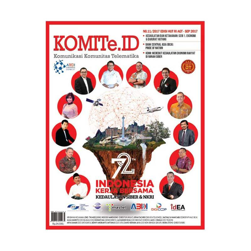 harga KOMITe Edisi Agustus - September 2017 Majalah Bisnis Blibli.com