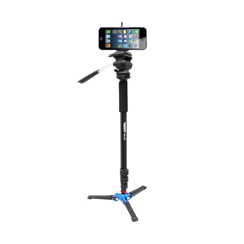 Takara VIM 264 Video LightWeight Monopod for Camera DSLR or Smartphone with Holder U