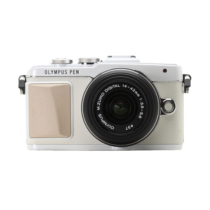 Olympus Pen E-PL7 FL-LM1 with 14-42mm EZ Digital Camera - White