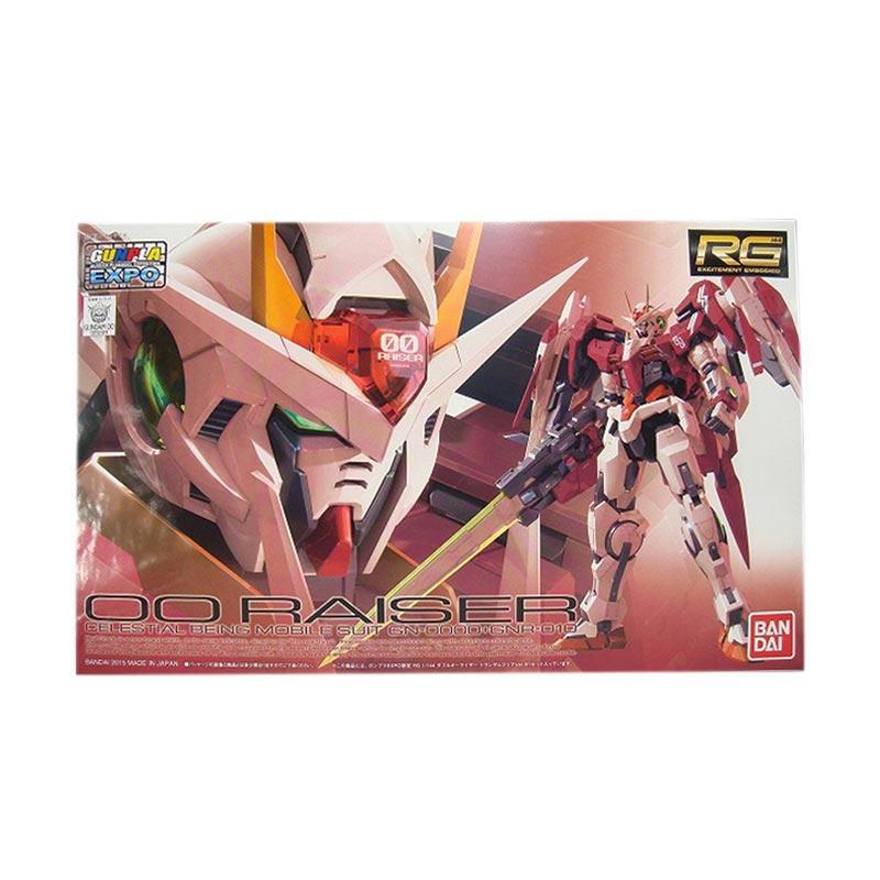 Bandai RG GN-0000+GNR-010 OO Raiser Trans Am Clear Expo Model Kit [1:144]