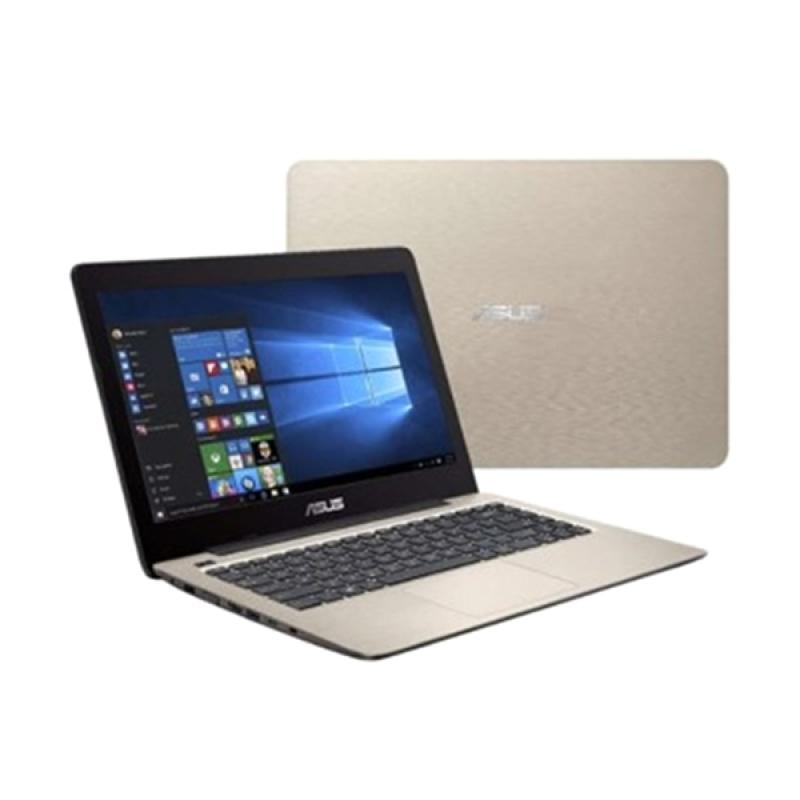 ASUS A456U Notebook - Gold [14 Inch FHD/i5-7200U/4GB/1TB/GT930MX 2GB/Win 10]