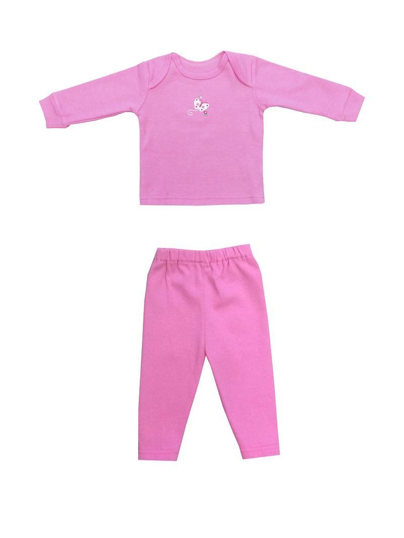 PLEU Set Baju Panjang Polos Girl
