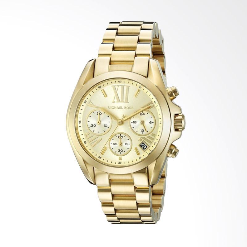 Michael Kors Bradshaw MK5798 Jam Tangan Wanita - Gold
