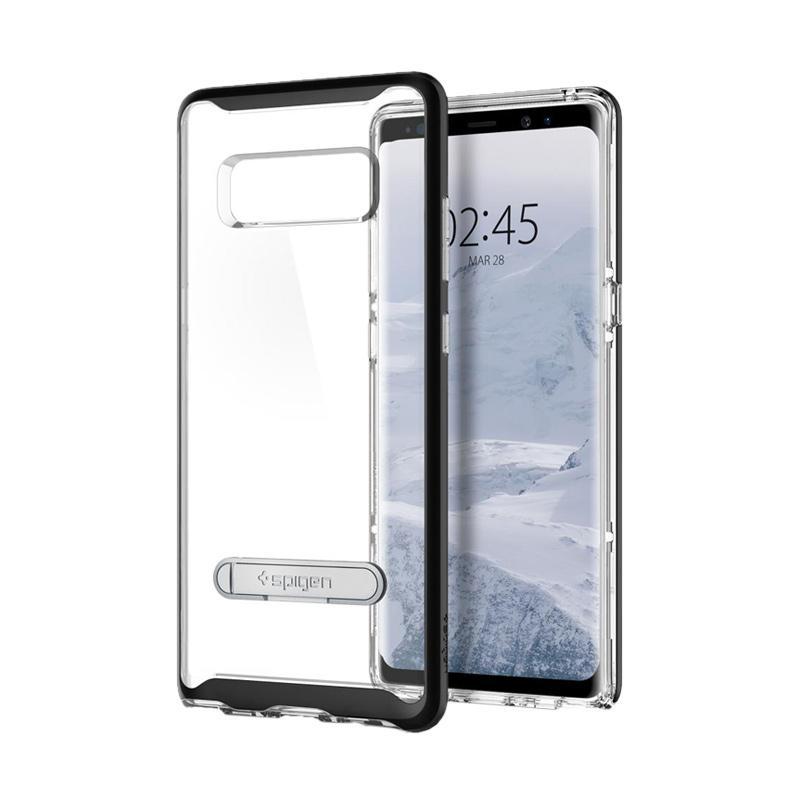 Spigen Crystal Hybrid Casing for Samsung Galaxy Note 8 - Black [587CS21842]