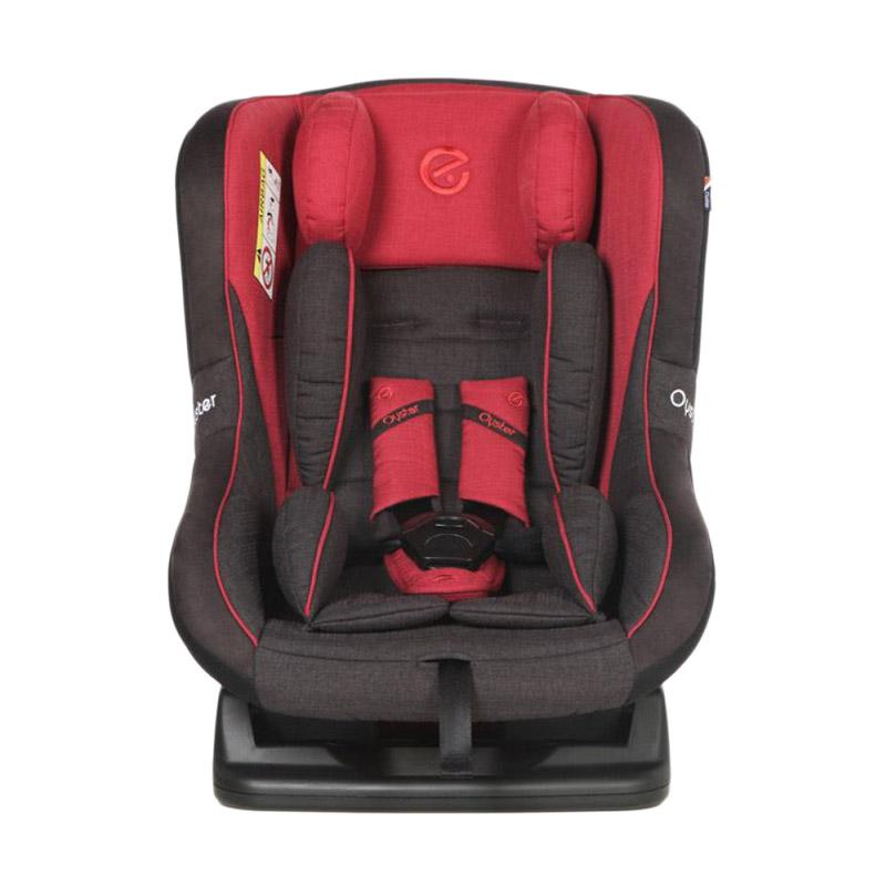 OYSTER Aries Tungsten Grey Carseat - Red [0-4 Years]