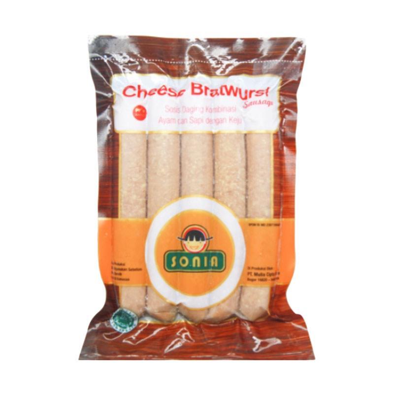 SONIA Cheese Bratwurst 23/65 Sosis