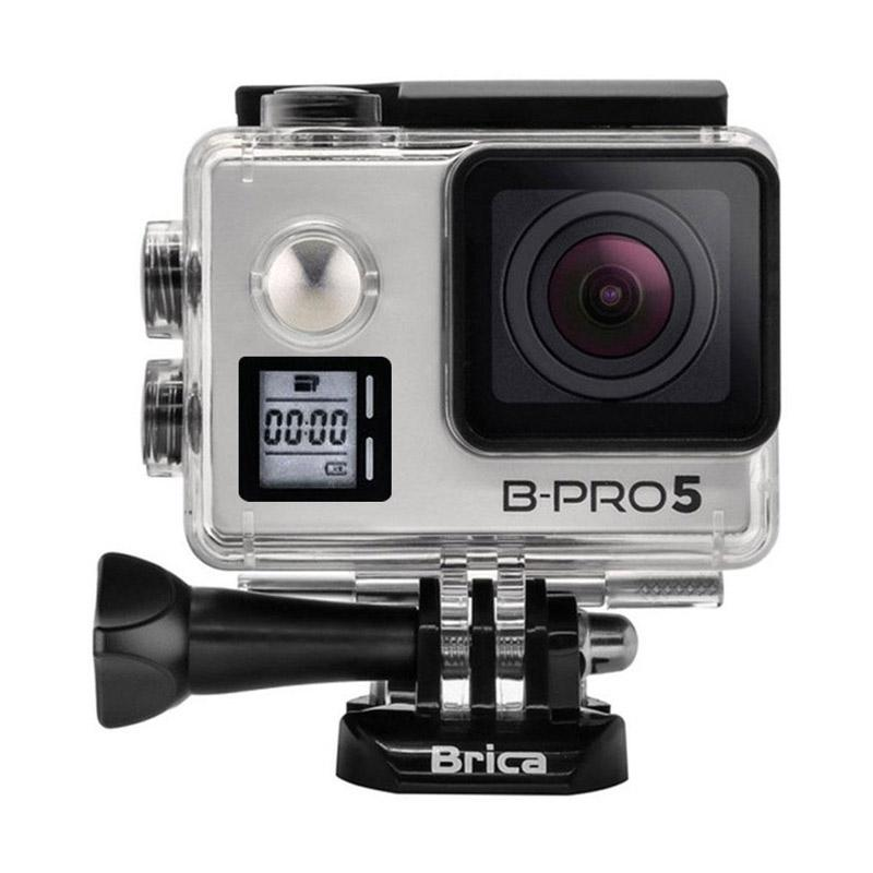 BRICA B-PRO 5 Alpha Edition Mark IIs (AE2s) Action Cam - Silver + T-shirt